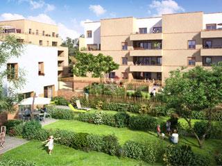 Programme immobilier neuf ARBOR & SENS à VANDŒUVRE LES NANCY