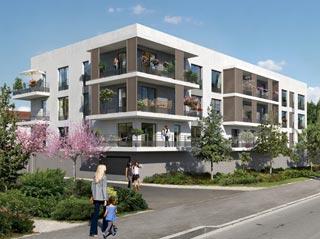 Programme immobilier neuf Place des Prés à CARRIERES SOUS POISSY