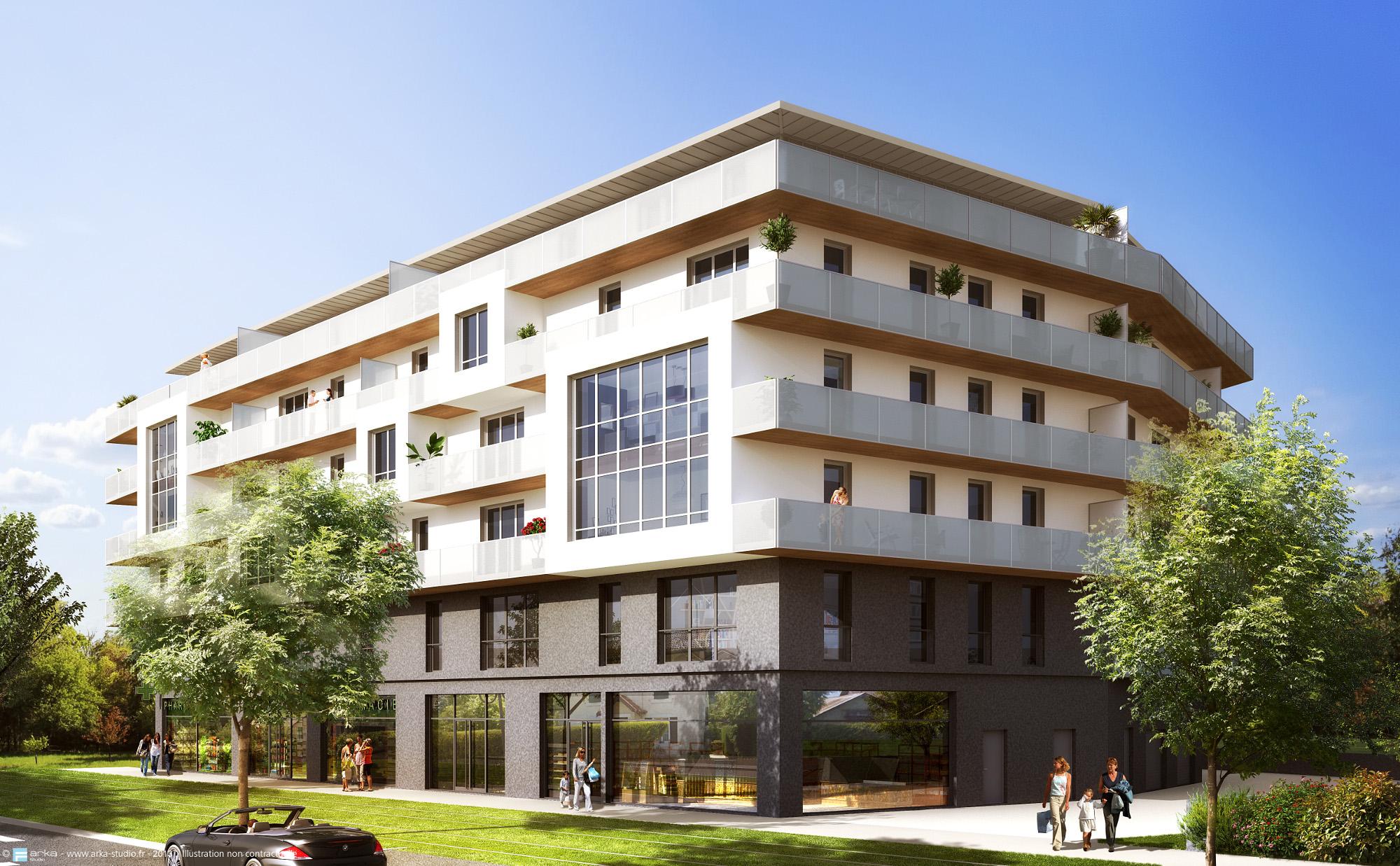 Achat vente logement neuf urban lodge saint genis pouilly - Exoneration taxe fonciere logement neuf bbc ...