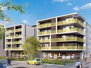 Programme immobilier neuf WESTSIDE à STRASBOURG