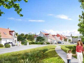 Programme immobilier neuf COTE VILLAGE à LA NORVILLE