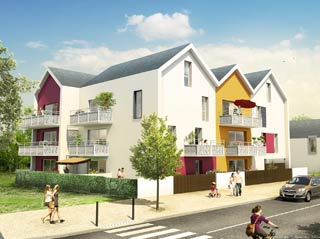 Programme immobilier neuf Néo à ANGERS