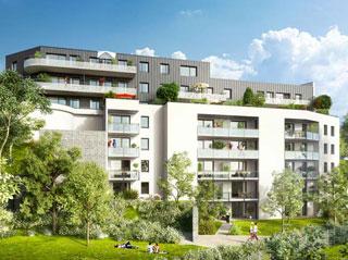 Programme immobilier neuf PLEIN CIEL à LAXOU