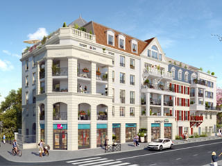 Programme immobilier neuf Villa Elégance à LE BLANC MESNIL