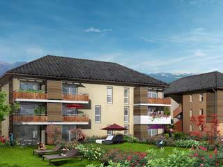 Programme immobilier neuf LES ALLEES DE LA CHARTREUSE à SAINT LAURENT DU PONT