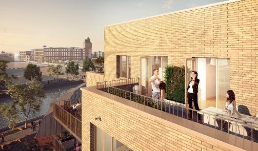 Achat vente logement neuf le quai des canotiers lille - Exoneration taxe fonciere logement neuf bbc ...