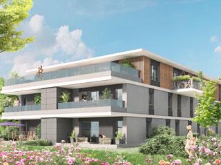 Programme immobilier neuf Reflets Leman à THONON LES BAINS