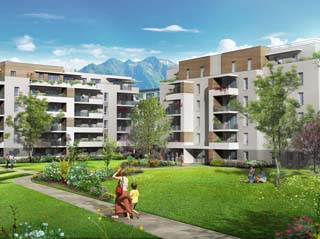 Programme immobilier neuf URBAN LODGE Tranche 1 à ALBERTVILLE