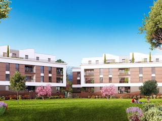 Programme immobilier neuf LES JARDINS D'OLYMPE à POLLESTRES