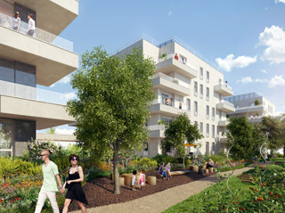 Programme immobilier neuf INITIAL à NANTERRE