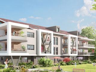 Programme immobilier neuf PERSPECTIV à DOUVAINE