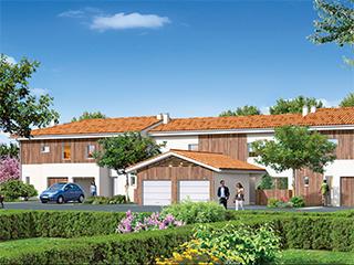 Programme immobilier neuf LE PARC DE CITON à POMPIGNAC