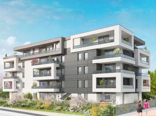Programme immobilier neuf KUBIK à THONON LES BAINS