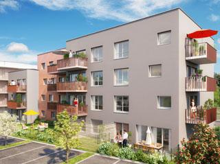 Programme immobilier neuf LA CLEF DES BOIS à PETIT COURONNE