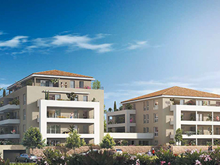 Programme immobilier neuf COTE COLLINE à MARSEILLE