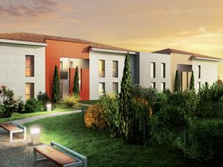 Programme immobilier neuf COULEUR JARDIN à SAINT ALBAN