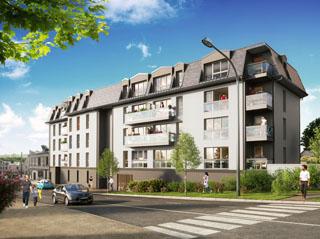 Programme immobilier neuf PATIO HUGO à MONTIVILLIERS