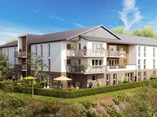 Programme immobilier neuf Balcons du Houlme à LE HOULME