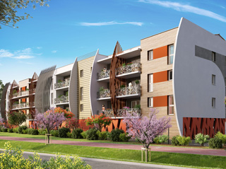 Programme immobilier neuf GALATEE à SAINT CYPRIEN