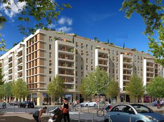 Programme immobilier neuf Résidence Le F - CAP FUTURA à MARSEILLE
