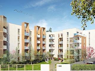 Programme immobilier neuf LES JARDINS DE PARILLY à VENISSIEUX