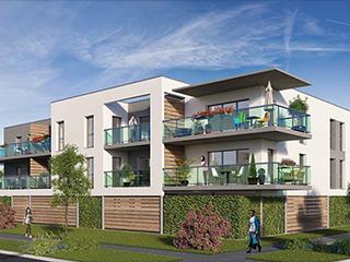 Programme immobilier neuf LE DOMAINE à SAINT-GERMAIN-LA-BLANCHE-HERBE