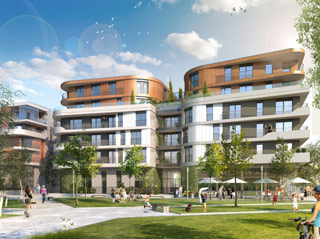 Programme immobilier neuf ELOGIA à BOIS COLOMBES