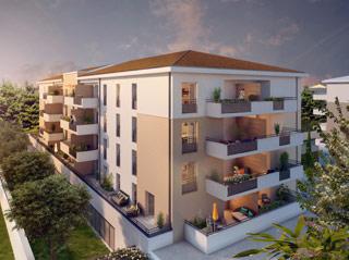 Programme immobilier neuf COEUR LUMIERE à AVIGNON