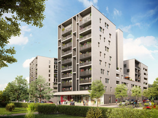Programme immobilier neuf GRAND ANGLE à RENNES