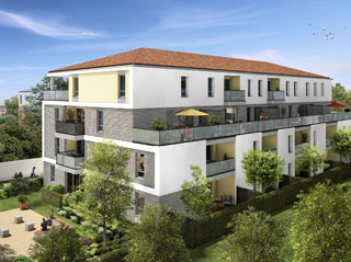 Programme immobilier neuf LES JARDINS DE LAUNAC à TOULOUSE