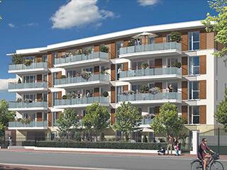 Programme immobilier neuf L'AQUARELLE à CHATOU