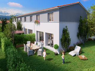Programme immobilier neuf DOMAINE DU RIBERAL à PEZILLA LA RIVIERE