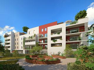 Programme immobilier neuf Les Sénioriales en ville à SAINT JEAN DE VEDAS