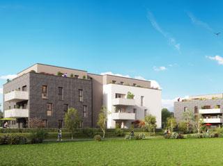 Programme immobilier neuf LA CLE DES CHAMPS 2 à ACHENHEIM