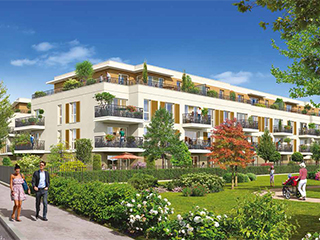 Programme immobilier neuf LE CLOS DU PARC à PONTAULT-COMBAULT
