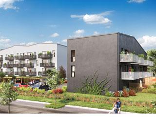 Programme immobilier neuf Les Cottages & Balcons du Hameau à LE HAVRE