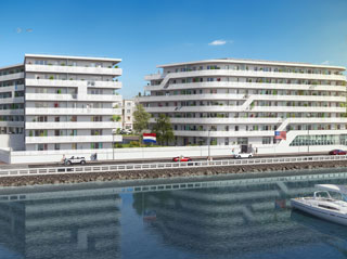 Programme immobilier neuf White Pearl à LE HAVRE