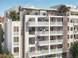 Programme immobilier neuf VILLA ALEXANDRA à NICE