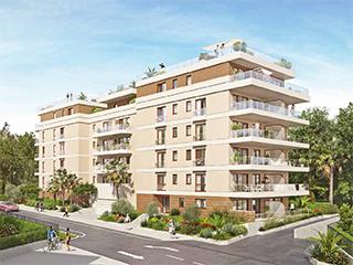 Programme immobilier neuf LES TERRASSES ALEFIA à ANTIBES - JUAN LES PINS