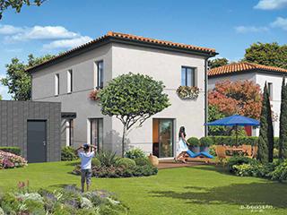 Programme immobilier neuf LES HAUTS DU MOULIN - MAISONS à MONDONVILLE