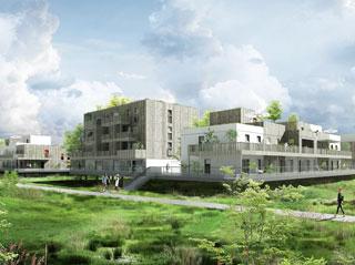 Programme immobilier neuf L'ENVOL à OSTWALD