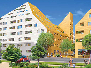 Programme immobilier neuf RIVEO CONTEMPORAIN à BORDEAUX