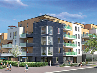 Programme immobilier neuf PATIO TEREO 2 à ANGERS