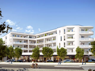 Programme immobilier neuf COTE REDON à MARSEILLE