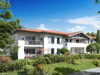 Programme immobilier neuf LE CASAOU à SAINT ANDRE DE SEIGNANX
