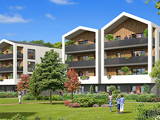 Programme immobilier neuf DOMAINE DES DRYADES à ANGLET