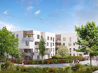 Programme immobilier neuf COTE SUD à VENISSIEUX
