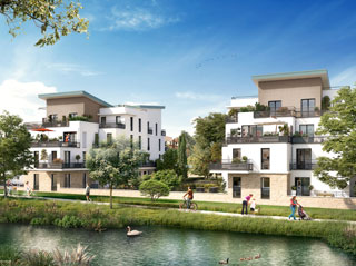 Programme immobilier neuf GRAND CANAL à BOIS D ARCY