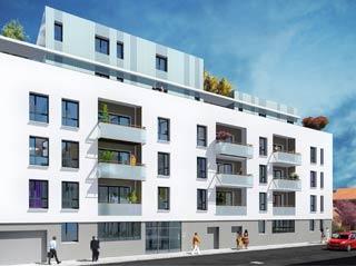 Programme immobilier neuf Happy 3e à LYON