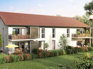 Programme immobilier neuf Les Jardins d'O à SAINT MARTIN BELLEVUE